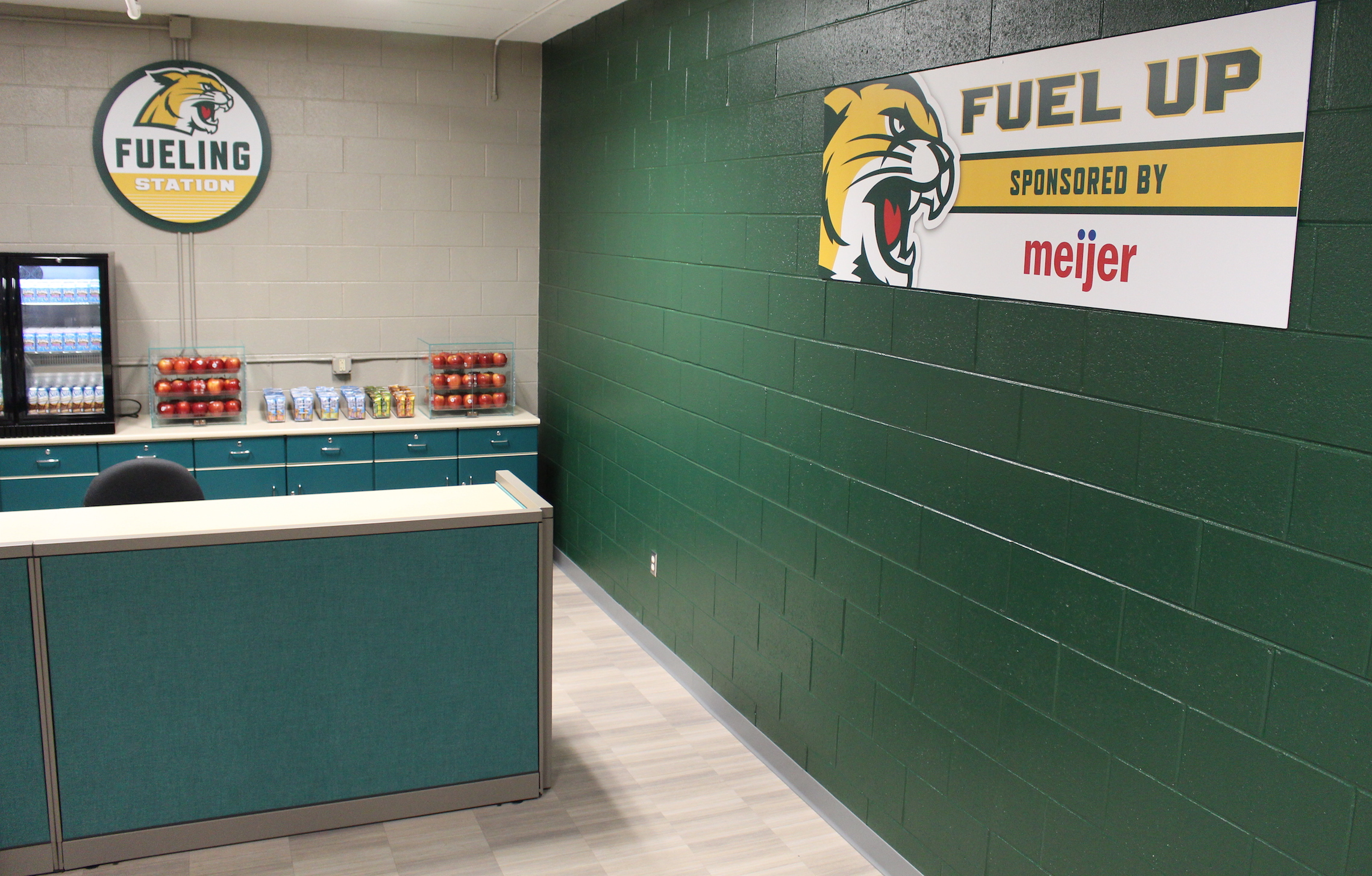 Meijer Student-Athlete Fueling Station