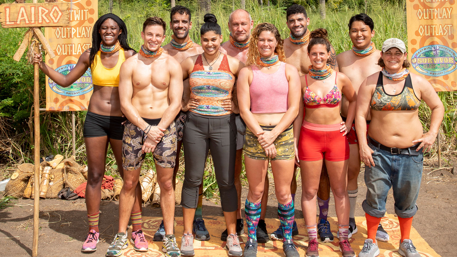'Survivor' cast
