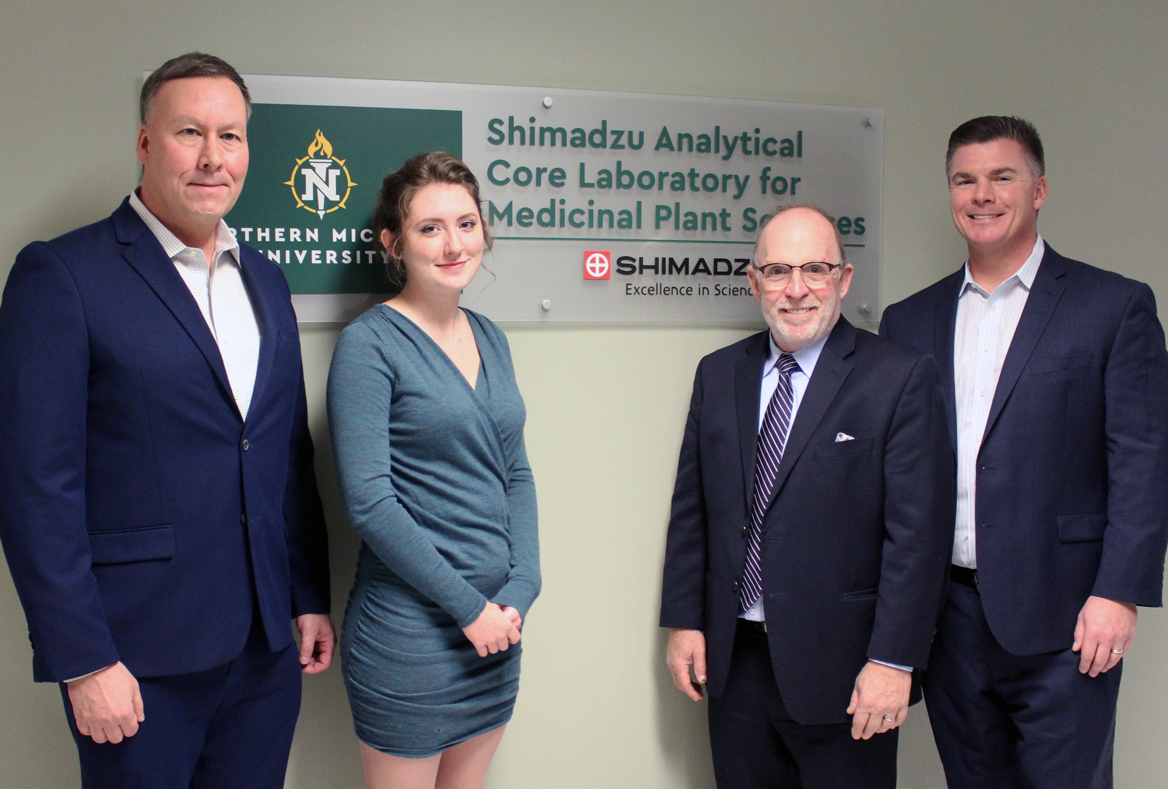 Dedication of Shimadzu Analytical Core Laboratory for Medicinal Plant Sciences