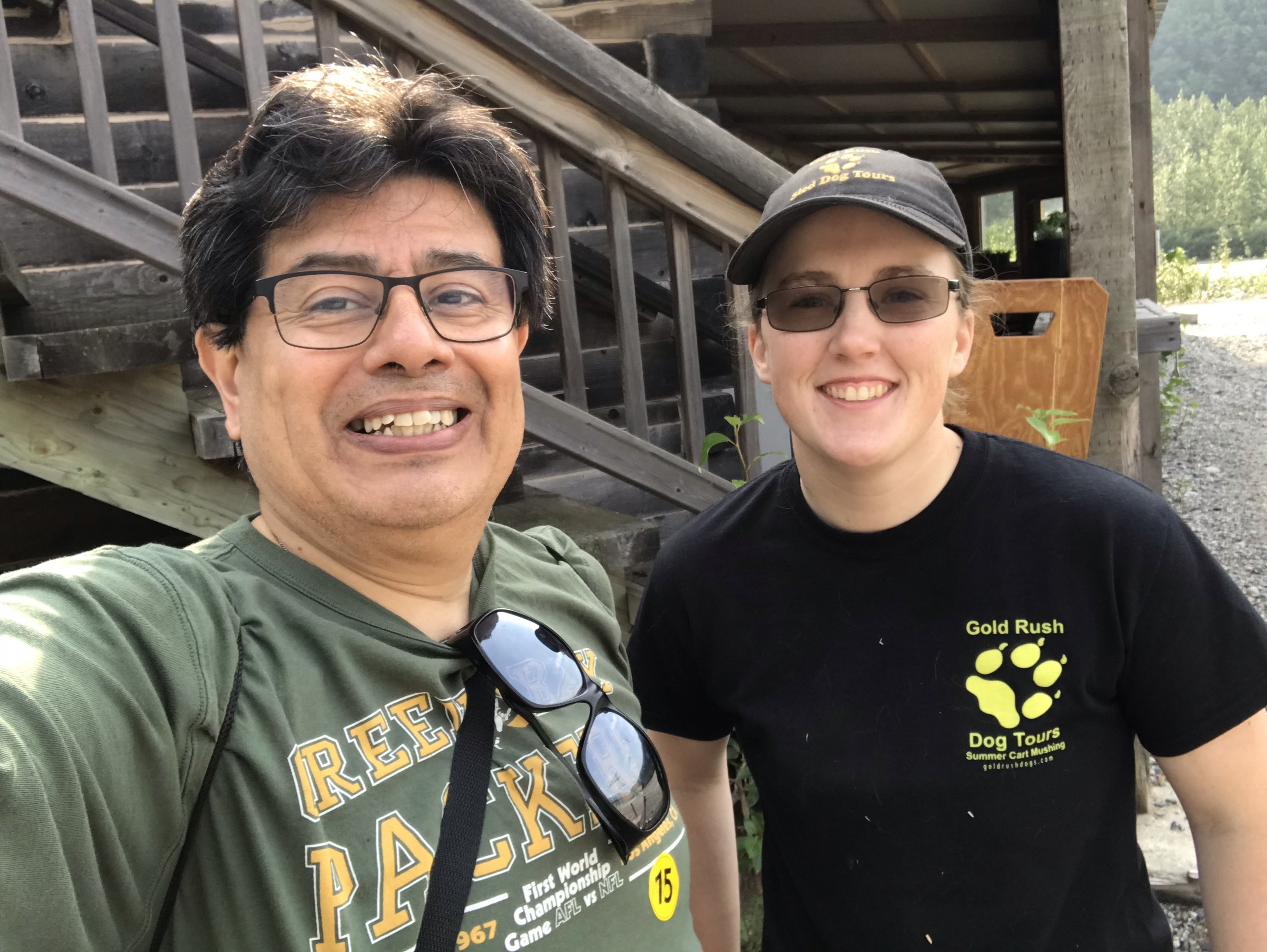 Eyzaguirre with Murringer in Alaska