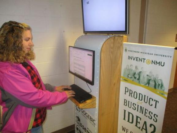Image of Invent@NMU Kiosk