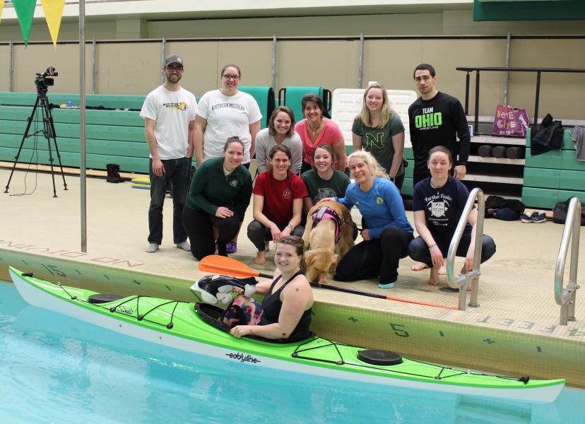 Breen's advanced mechanical kinesiology class' work with Paralympian Kelly Allen was the topic of one presentation