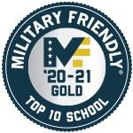 Military Friendly Top 10 Logo