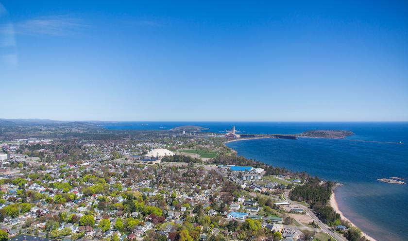 NMU aerial stock photo