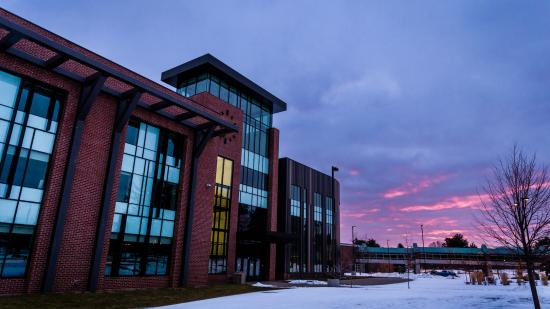 NMU winter stock photo