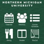 Image of the new NMU app's home screen
