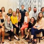 Eleven Northern Michigan University students attended the annual Public Relations Student Society of America National Conference