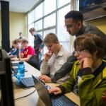 U.P. Cybersecurity Institute at NMU grand opening photo