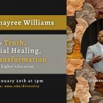 Khayree Williams event poster