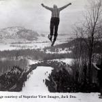 Ski-jumping image courtesy of Superior View Images, Jack Deo.